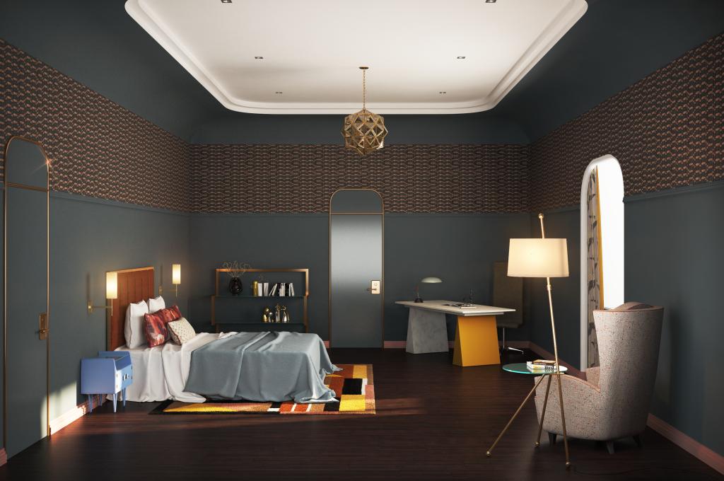итог гостевая спальня